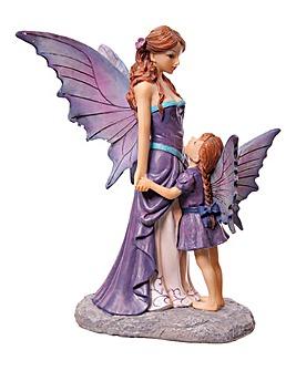 Amethyst Guardian Fairy