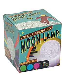 Colour Changing Remote Control Moon Lamp