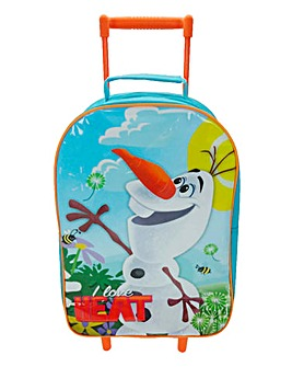 Disney Frozen Olaf Wheeled Trolley Case