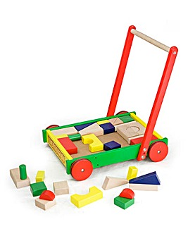 Personalised Baby Walker with Blocks