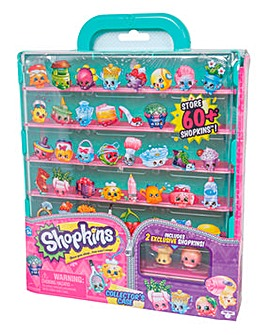 Shopkins Pop Up Shop Collectors Case
