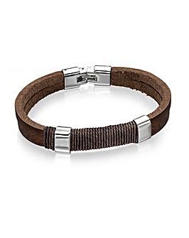 Fred Bennett Wrapped Cord Bracelet