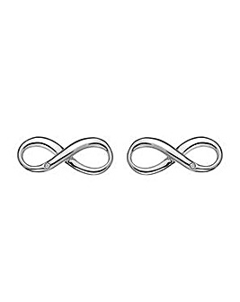 Hot Diamonds Infinity Earrings