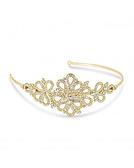 Jon Richard Crystal Peardrop Headband