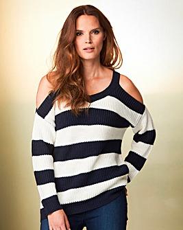 Vero Moda Stripe Knit Jumper