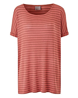 Vero Moda Oversized Boat-neck Top