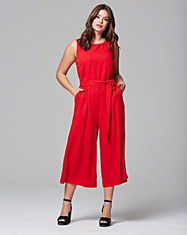 Red dress jumpsuit yang