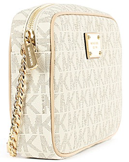 Michael Kors Beige Cross-Body Bag