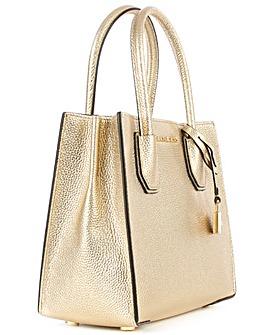 Michael Kors Medium Gold Messenger Bag