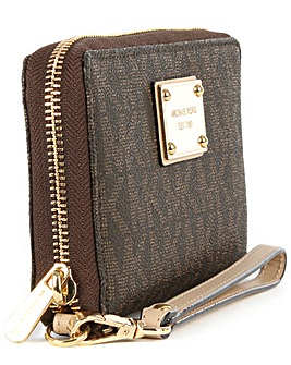Michael Kors Brown Smartphone Wallet