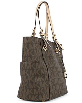 Michael Kors Brown Tote Bag
