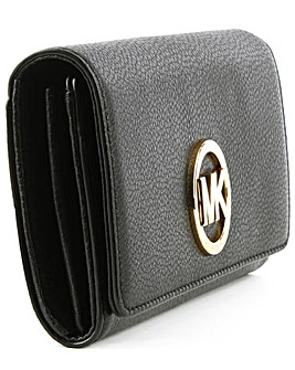Michael Kors Black Carryall Wallet
