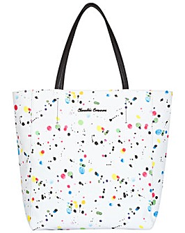Claudia Canova Zip Top Tote Style