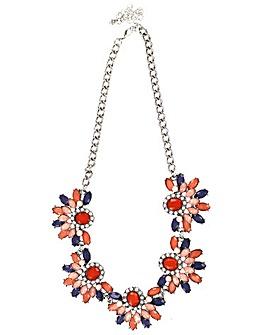 Lizzie Lee Multi Panel Necklace