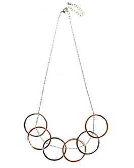 Lizzie Lee Mixed Metal Necklace