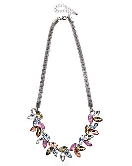 Lizzie Lee Colourful Glass Necklace