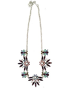 Lizzie Lee Delicate Jeweled Necklace