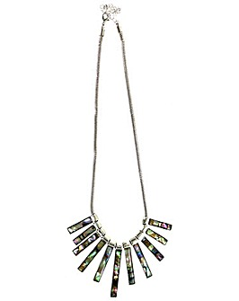 Lizzie Lee Abalone Effect Necklace