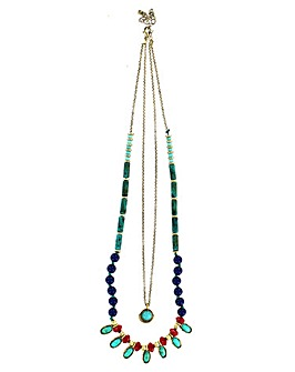 Lizzie Lee Unusual Multi Row Necklace