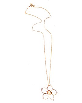 Lizzie Lee Wire Flower Necklace