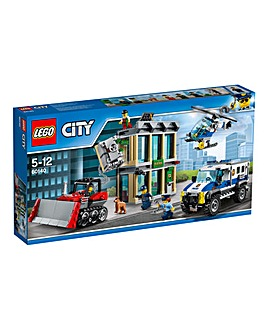 LEGO City Police Bulldozer Break-In
