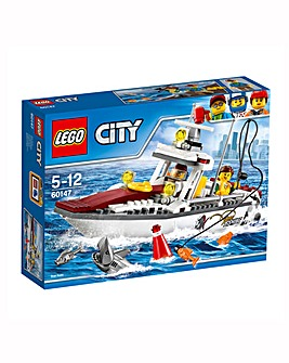 LEGO City Great Vehicles Fishing Boat