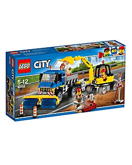 LEGO City Great Vehicles Sweeper & Excav