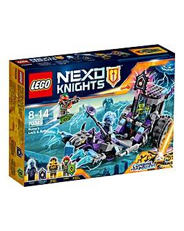 LEGO Nexo Knights Ruinas Lock & Roller