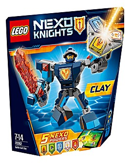 LEGO Nexo Knights Battle Suit Clay