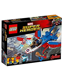 LEGO Marvel Captain America Jet Pursuit