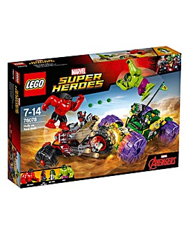 LEGO Marvel Super Heroes Hulk v Red Hulk