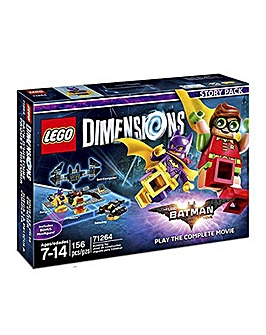 Lego Dimensions  Lego Batman Story Pack
