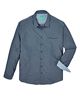BOSS Green Mighty Textured Dobby Shirt