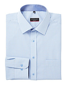 Eterna Mighty Gingham Check Formal Shirt