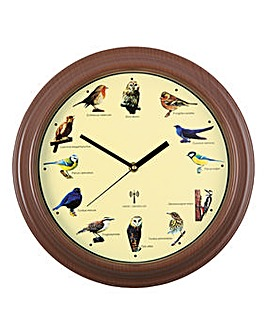 Bird Song Radio Control Wall Clock