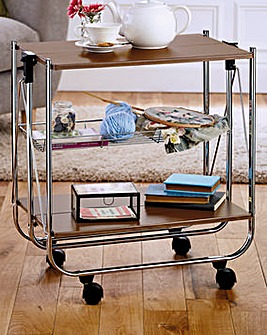 Super Smart Delux Serving Trolley