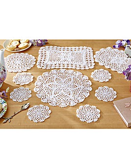 Set of 10 Traditional Table Mats