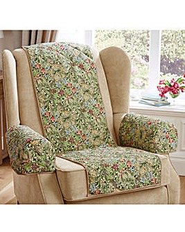 Exclusive William Morris Quilted Chair