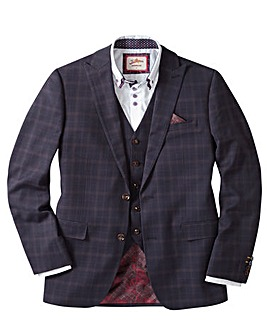 Joe Browns Check Suit Jacket Reg