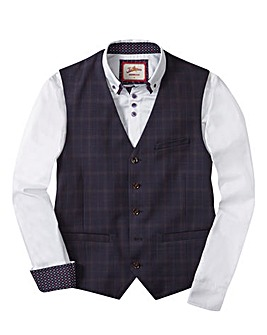Joe Browns Check Waistcoat Reg