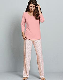 Jersey Pyjamas 2 Pack 28in