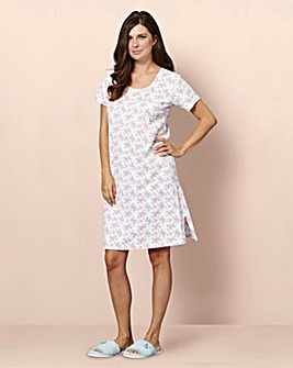 Cotton Jersey Nightie 2 Pack 44 inch