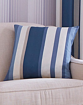 Printed Stripe Filled Cushions 2