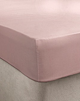 Egyptian Cotton Extra Deep Ftd Sheet