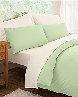 200TC Percale Plain-Dye Duvet Cover