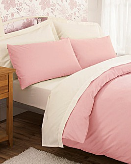 200TC Percale Plain-Dye Duvet Cover
