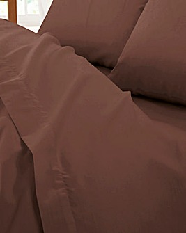 Non-Iron 200TC Plain-Dye Flat Sheet