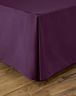 Easy-Care Plain-Dyed Base Valance