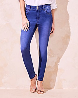 Blue Shape & Sculpt Skinny Jeans Long