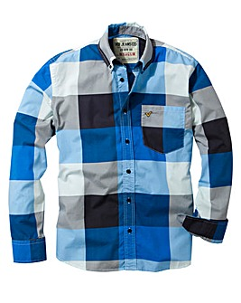 Voi Ticket Long Sleeve Check Shirt